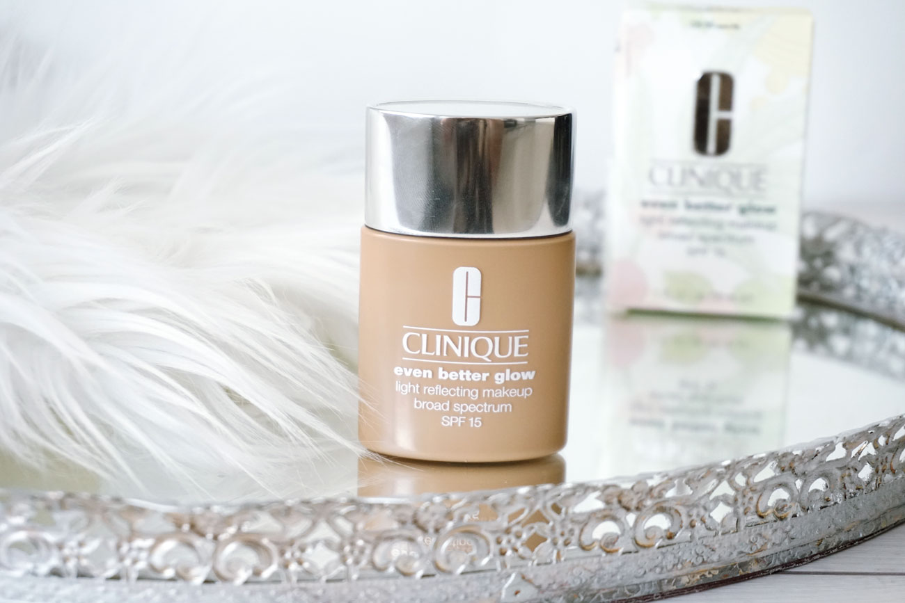 Clinique Even Better Glow Foundation | SoFitSoPretty | A Beauty + Lifestyle Blog